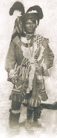 Photograph of Seminole Chief Billy Bowlegs