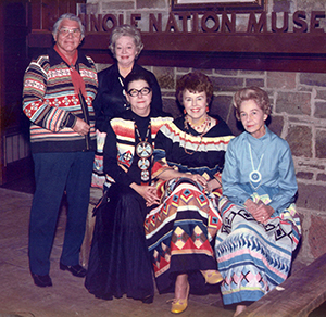 Seminole Nation Museum founders