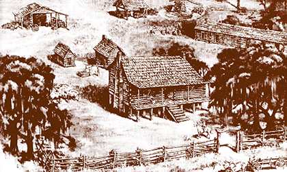Early 19th Century white settlement in Florida